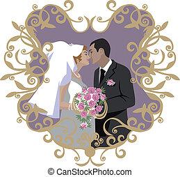 par, 09, bröllop