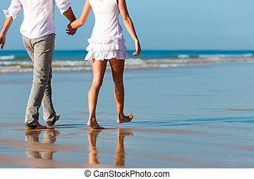par, gå, ha, semester