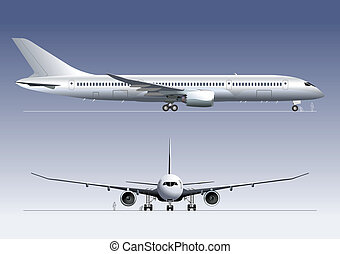 passagerarfartyg, dröm, boeing-787