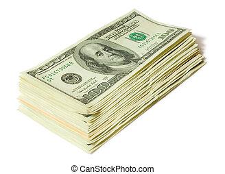 pengar, concepts., finanser