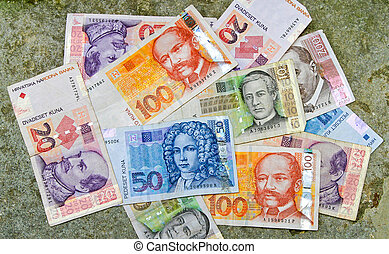 pengar, kroatisk