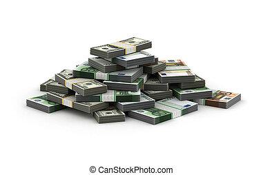 pengar, stack