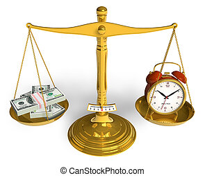 pengar, tid