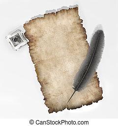 pergament, 7