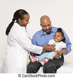 physician., fader, barn