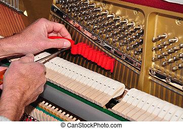 piano, stämmande