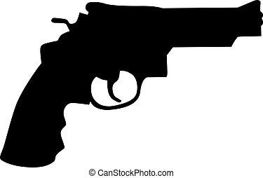 pistol, gevär