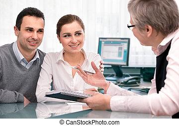 planerande, konsultation, finansiell