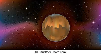 planet, mars