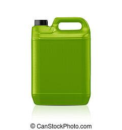 plastisk, gallon