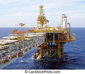 plattform frånlands, olja