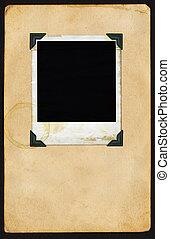 polaroidkamera, sida