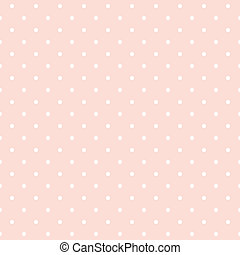 pricken, bakgrund, vektor, rosa, polka