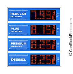 pris, framtid, gas, underteckna