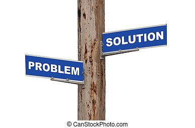 problem, lösning, &