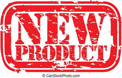 produkt, grunge, ve, stämpel, gummi, färsk
