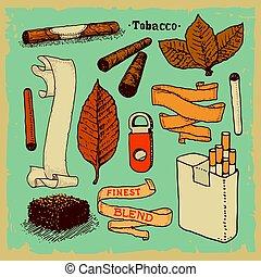 produkter, tobak