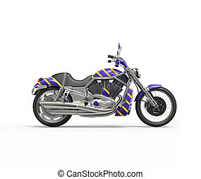 purpur, tung, cykel, kylig