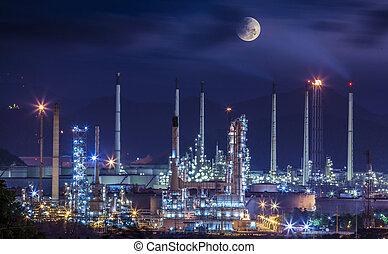 raffinaderi, industriell växt