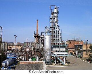 raffinaderi, petroleum