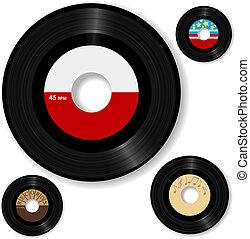 rekord, 45 rpm, retro