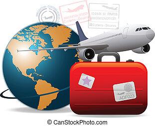 resa, airplane