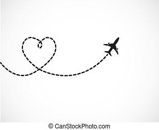 resa, kärlek, begrepp