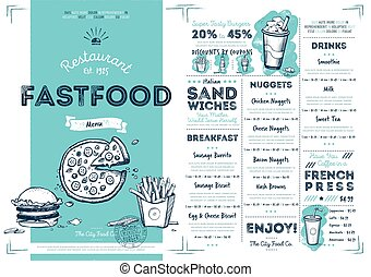 restaurang, mat, meny, fasta, mall, cafe