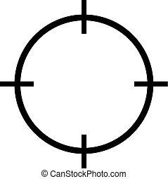 reticle, ikon