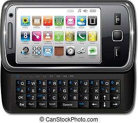 ringa, smartphone, mobil