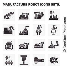 robot, ikonen