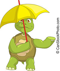rolig, turtle.