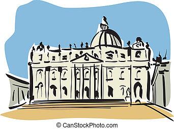 rom, peters, (st., basilica)