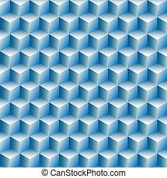 ror, kuben, abstrakt, optisk, bakgrund, illusion