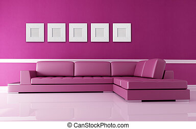 rosa, vardagsrum