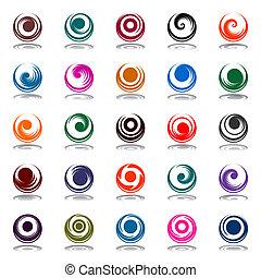 rotation, spiral, rörelse