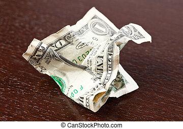 rynkig, dollar