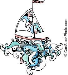 segelbåt