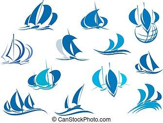 segelbåtar, design, yachter, sports
