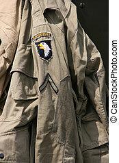 sergeant, luftburen, likformig
