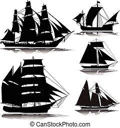 ship--vector, gammal