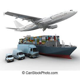 skeppning, företag