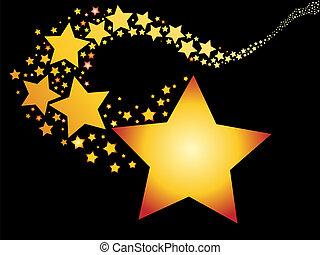 skjutning stjärna