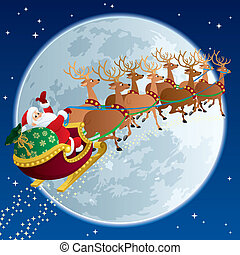 sleigh, 2, jultomten