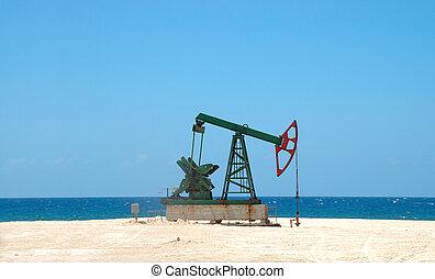 smutsa, kuban, petroleum, extraktion