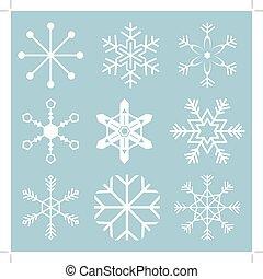 snöflinga, ikonen