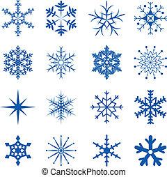 snöflingor, del