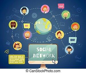 social, olik, folk, nätverksarbetande, ockupationerna