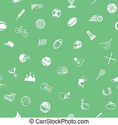 sport, seamless, bakgrund, struktur