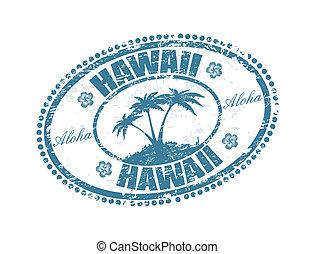 stämpel, hawaii